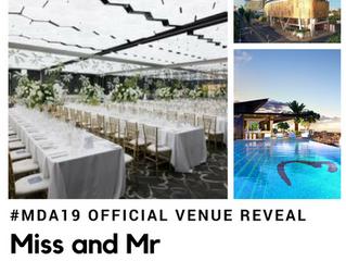 MDA19 Venue Reveal...