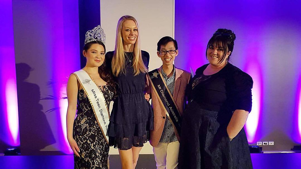 Judging at Miss Fashion Week Australia