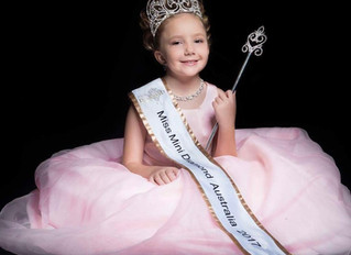 Miss Mini Diamond Australia 2017 at a Photoshoot!