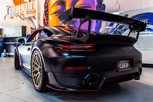 "11"" x 17"" Porsche GT2  Metallic Photo Print"