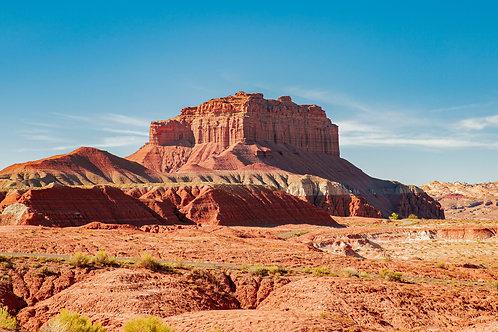 """11"""" x 14"""" Capitol Reef Utah Metallic Photo Print"""