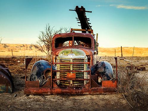 "11"" x 14"" Abandoned Capitol Reef Utah Metallic Photo Print"