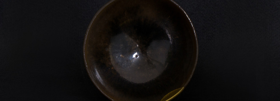 建窯銀班茶盞