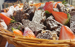 Powdered Brownies
