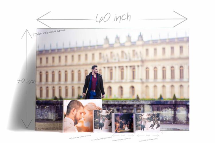 Photobooks, boxes and canvas comparison
