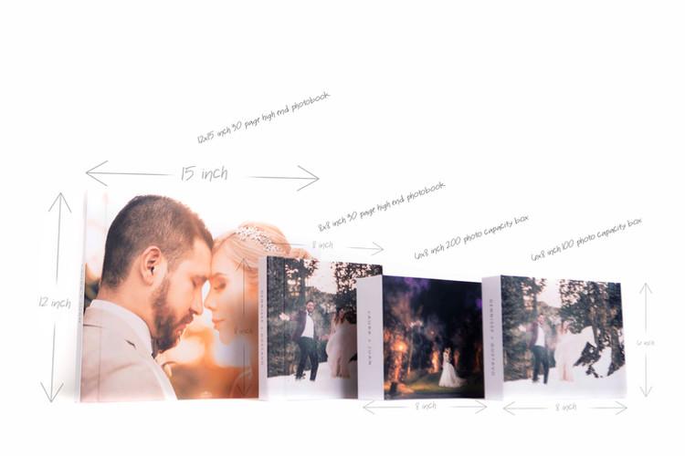 Photobooks and boxes comparison