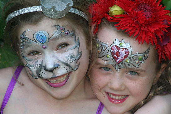 facepainting, childrens parties, kids entertainment, events