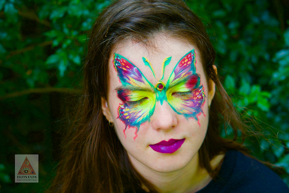 Butterfly madness at the Australian Body Art awards recently. Happy days!
