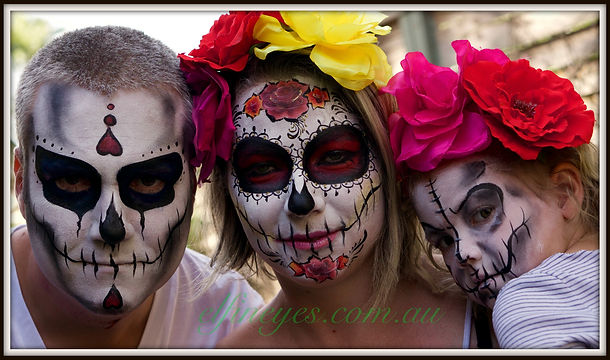 halloween, day of the dead, facepainting, special events, entertainment