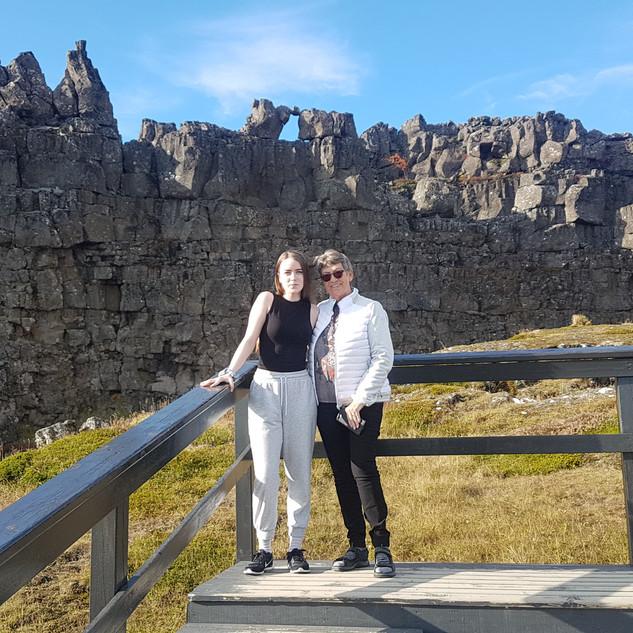 Located in Þingvellir, Iceland