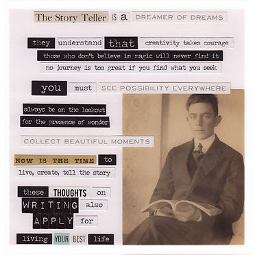 The Storyteller Is A Dreamer Of Dreams (