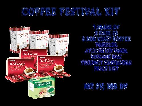 Registration kit: Coffee Festival