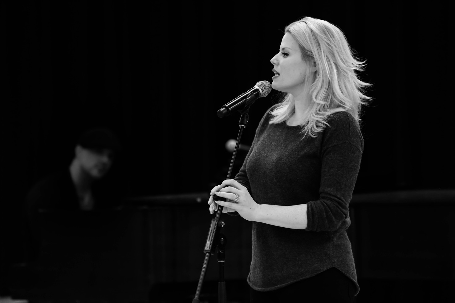 Megan Hilty, Live from Lincoln Center Rehearsal