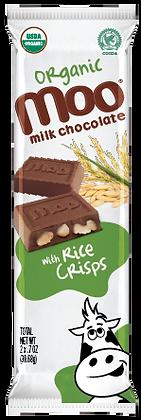 Organic Rice Crisps & Milk Chocolate Bars 2-Pack, Box/14