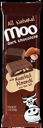 Natural Roasted Almond Dark Chocolate Bars 2-Pack, Box/14
