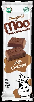 Organic Solid Milk Chocolate Bars 2-Pack, Box/14