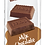 Thumbnail: Organic Solid Milk Chocolate Bars 2-Pack, Box/14