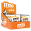 Thumbnail: Natural Honey Caramel & Milk Chocolate Mini Bars, Box/14