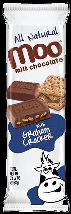 Natural Graham Cracker & Milk Chocolate Bars 2-Pack, Box/14