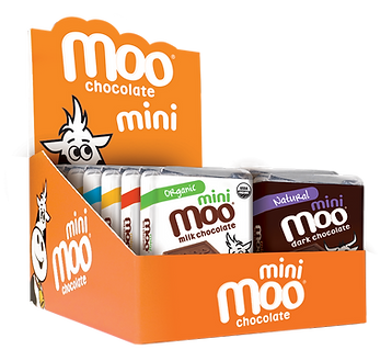 Moo Chocolate Mini Bar Variety Box