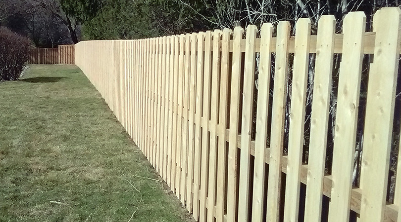 Shadow Box Fence