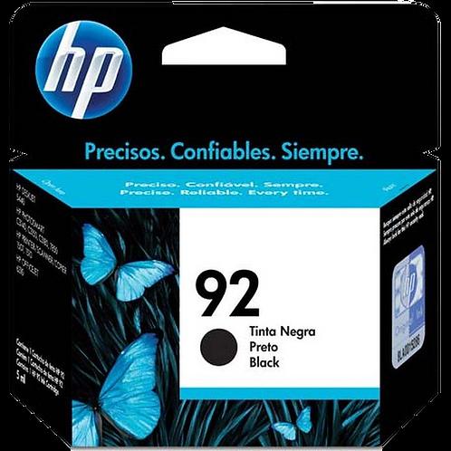 Cartucho HP 92 Preto C9362WB