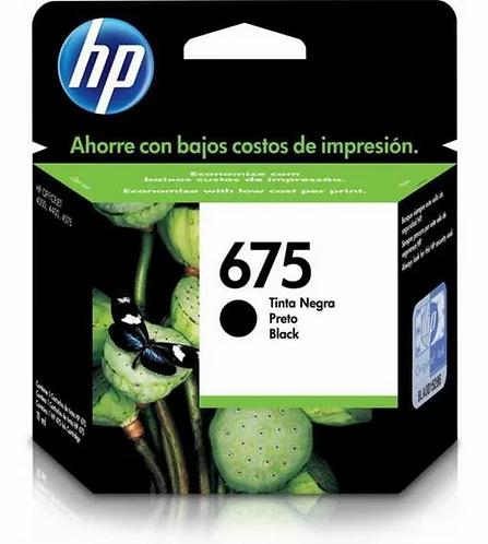 Cartucho HP 675 Preto CN690AL