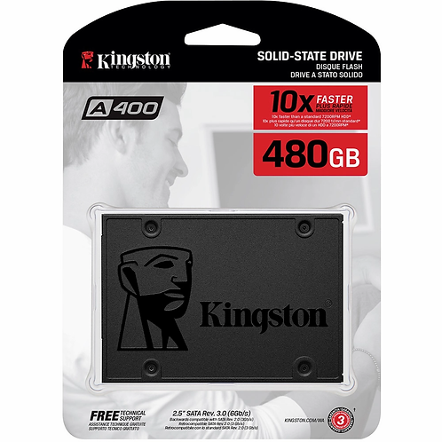 SSD Kingston 480GB 2.5 SATA 3