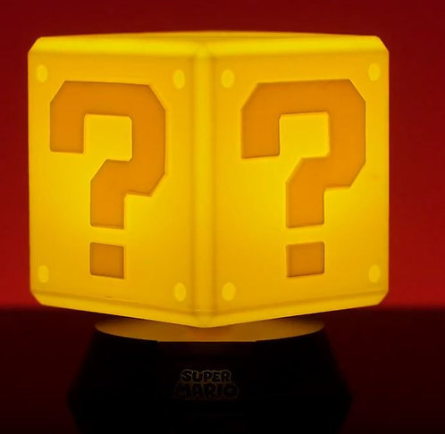 Luminaria Super Mario Bros - Question Block 3d Light
