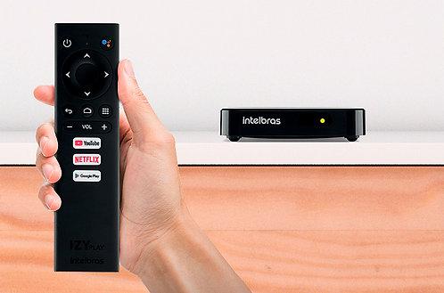 Smart Box Android TV IZY Play Intelbras