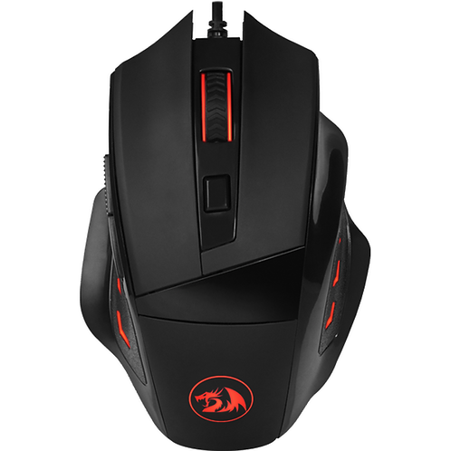 Mouse Gamer Redragon 3200DPI, com LED, Phaser - M609