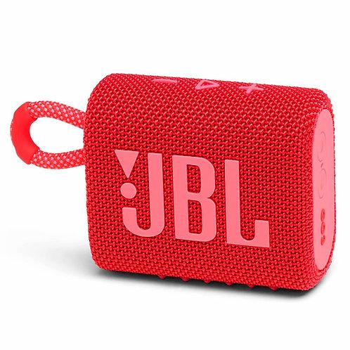 Caixa de som Portatil JBL GO3 Vermelho