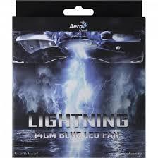 Cooler Aerocool Lightning 14cm Blue Led Fan