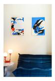 The artworks at Jäll & Tofta Office, Berlin.