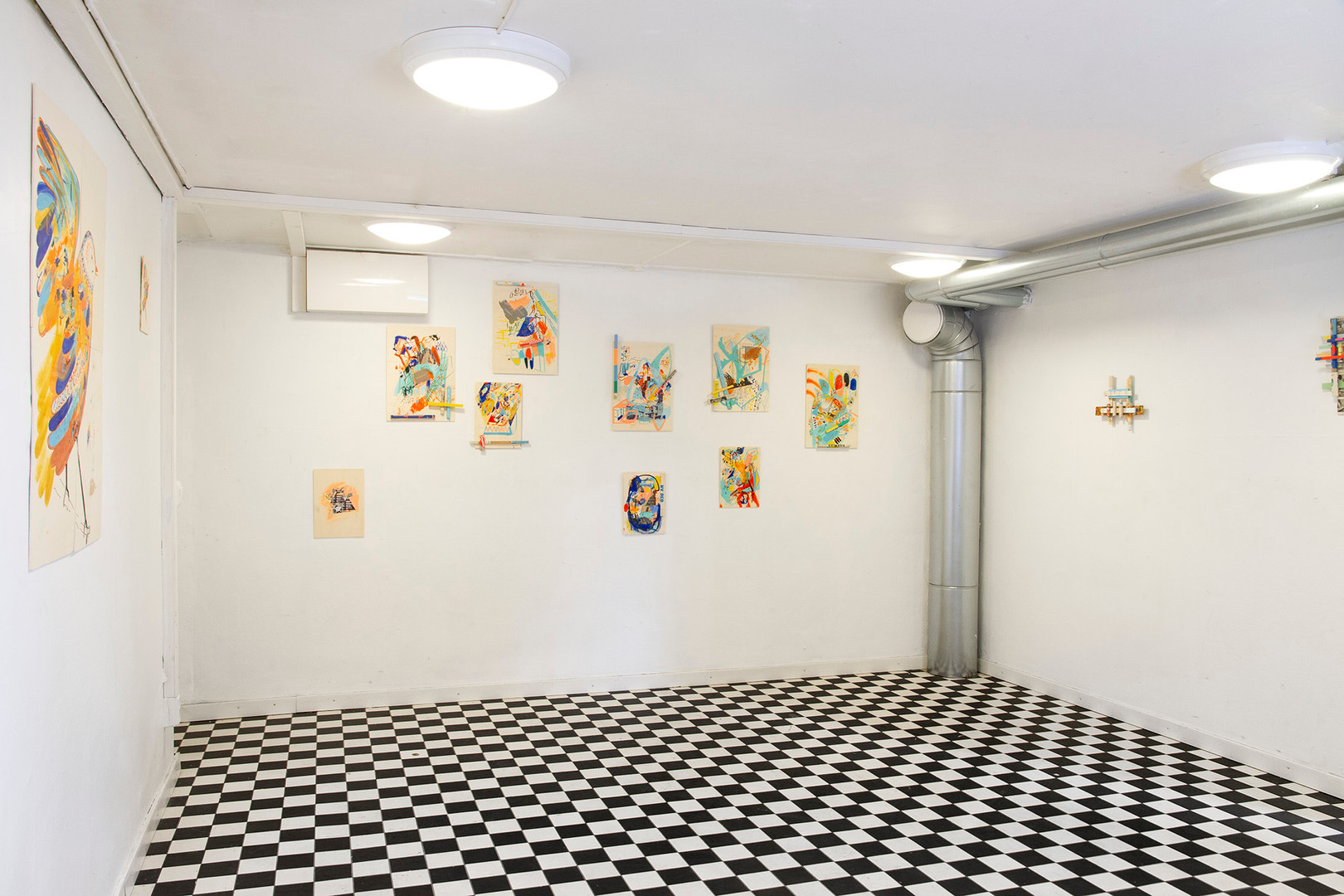 """Ainiaaksi o Para Siempre"" at XL Art space, Helsinki, Finland, Exhibition View."