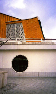 Architecture, Philarmonie, Analog photography, 2014.