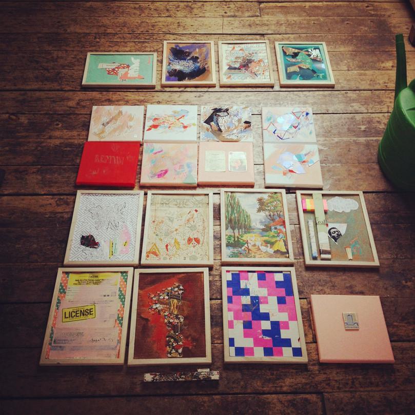 Berlin 2012 Studio, Massive inspiration.