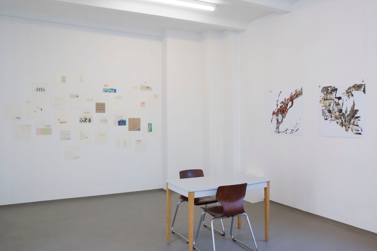 SummerCamp III, group show, Berlin.