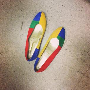 Vintage shoes, 2014.