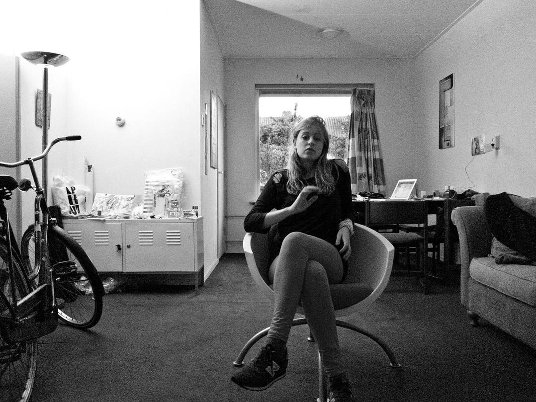 Kunstenaarlogies studio house.
