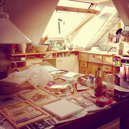 Berlin summer studio 2012