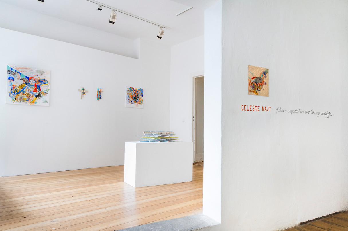 """Future expectations, everlasting nostalgia"", Okazi Gallery, Berlin, Germany."