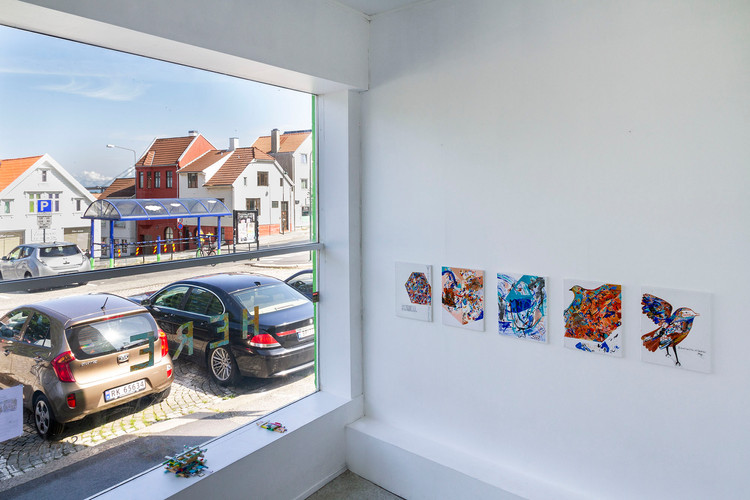 """""""Here, There and Nowhere"""", exhibition view, Studio 17 Gallery, Stavanger, Norway"""