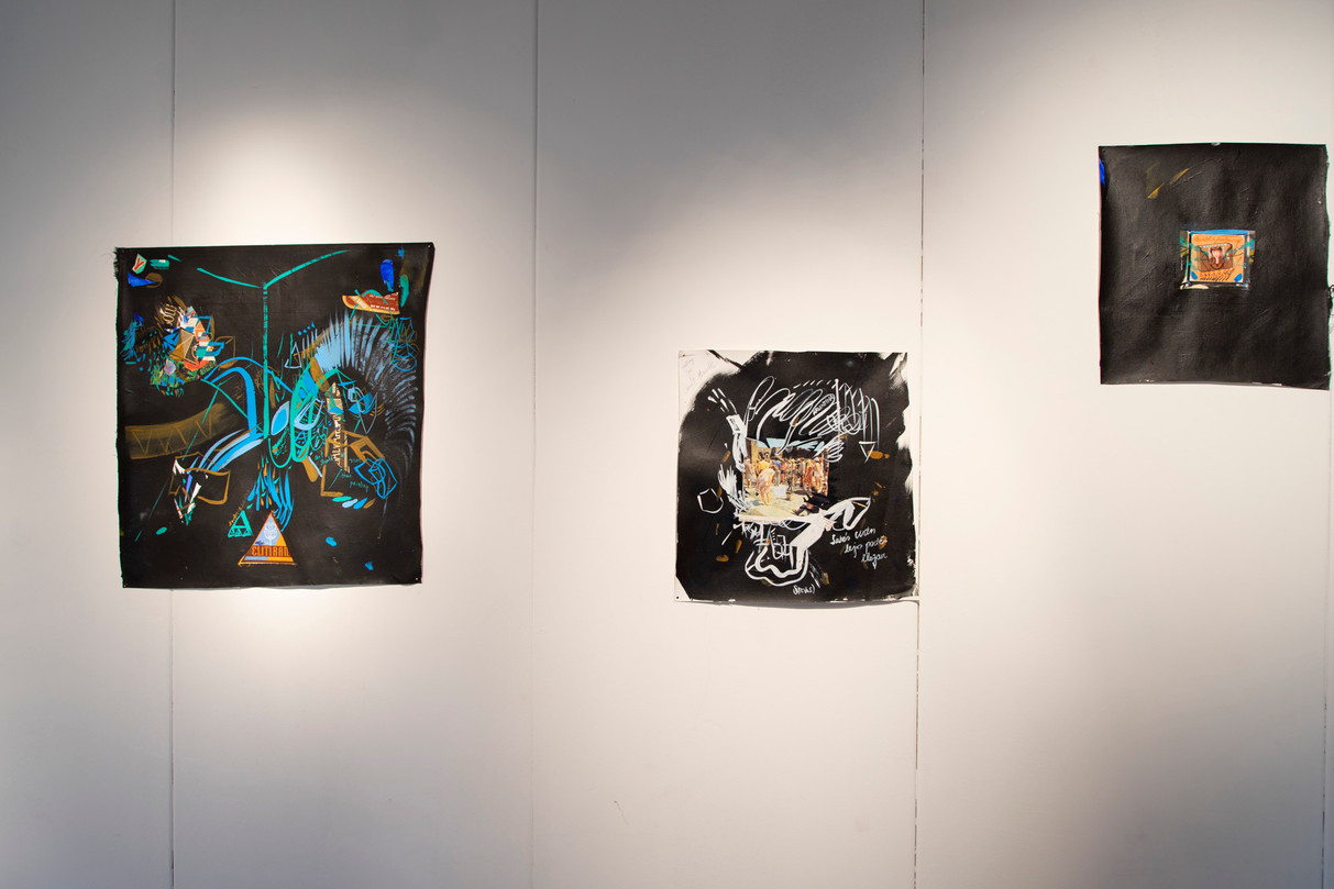 Black Excursions at NDSM Gallery, Amsterdam, Netherlands