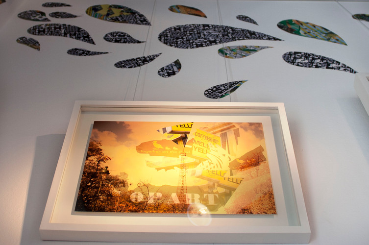 """Still dreaming during the day"", El tigre Celeste exhibition"