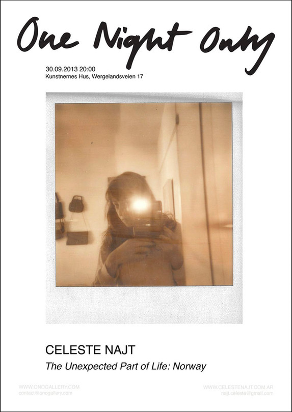 Ono Gallery Exhibition poster