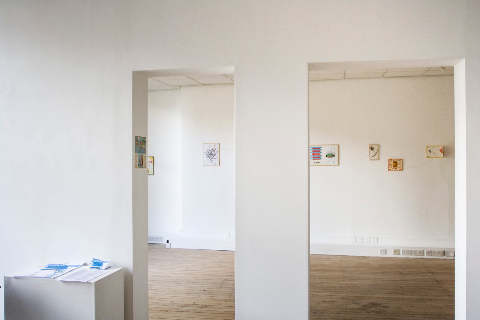 Exhibition view at Badger Badger Projects.