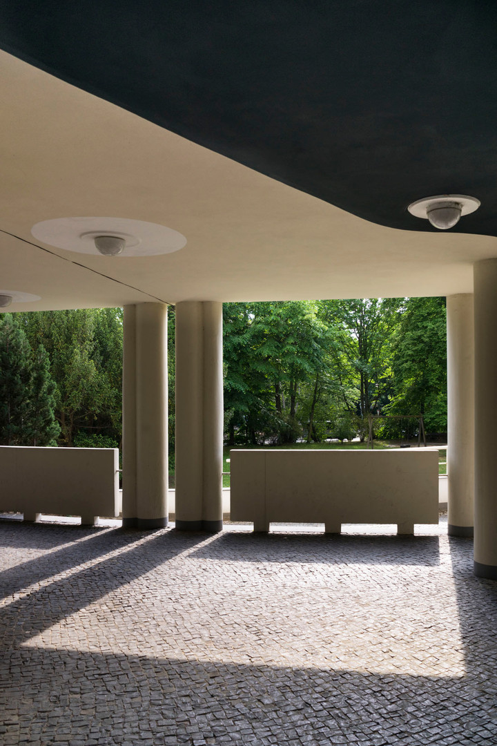 Alvar Aalto building, Celeste´s home & studio