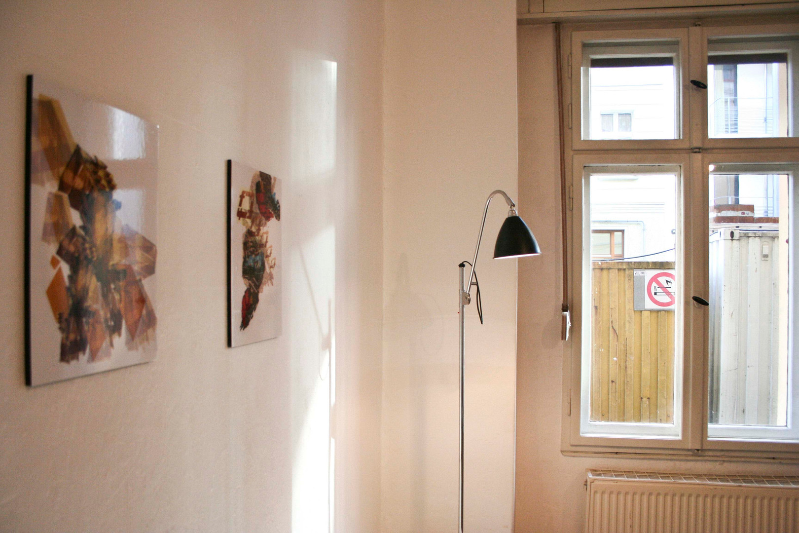 First solo show in Berlin, 2007