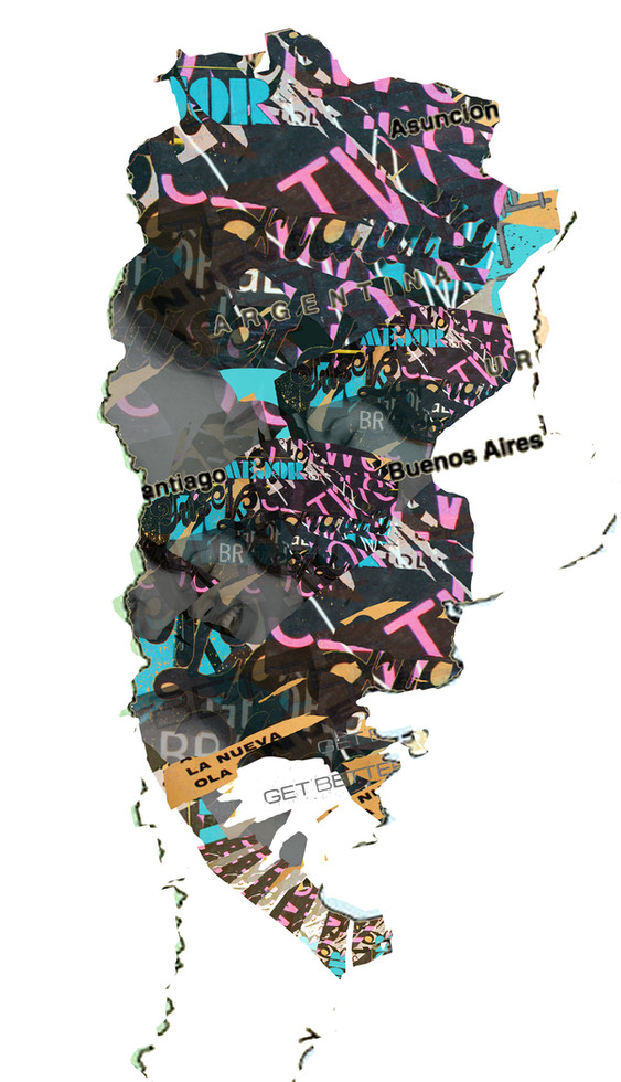 El mapa de nuestro pais